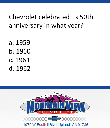 Mountain View Trivia